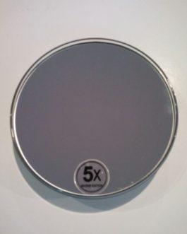 Espejo de  aumento X5 Ventosa.