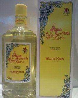 Agua de Colonia Concentrada Alvarez Gómez, 750 ml.
