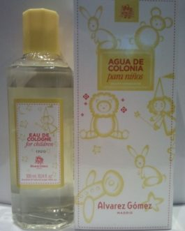 Alvarez Gómez Agua de colonia para niños, 300 ml spray.