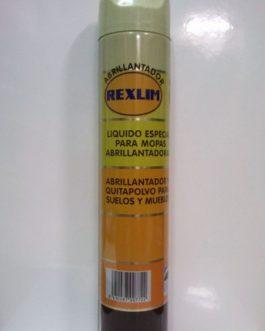 Abrillantador Rexlim suelos y muebles (líquido especial para mopas y abrillantadoras), 100ml.