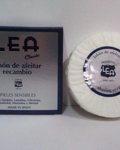 Lea Classic Jabón de Afeitar Recambio, 100gr.