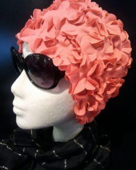 Gorro de Flores Coral.