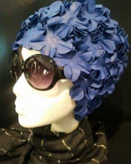 Gorro de Flores Azulón.