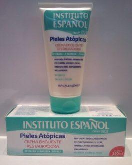 Instituto Español-Pieles Atópicas, Crema Emoliente Restauradora Tubo, 150ml.