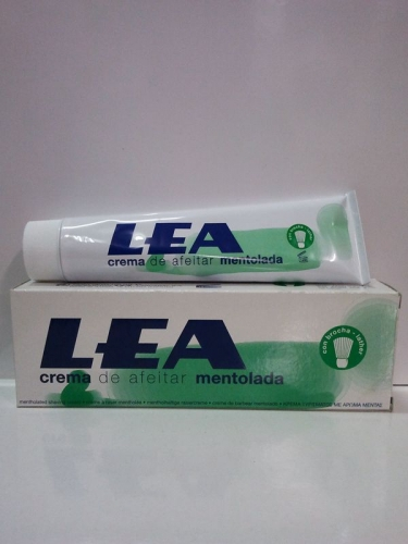 Lea Classic Crema de Afeitar Mentolada, 100gr.
