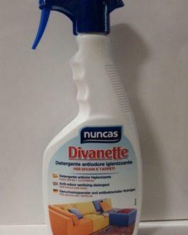 Nuncas  Divanette Sofás y Alfombras Spray, 500ml.