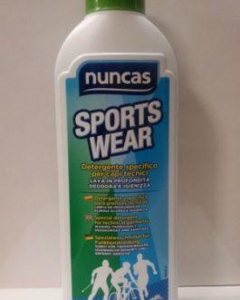 Nuncas Sports Wear Detergente para ropa deportiva, 750ml.