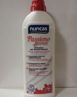 Nuncas Pasión por el blanco-Detergente, 750ml.