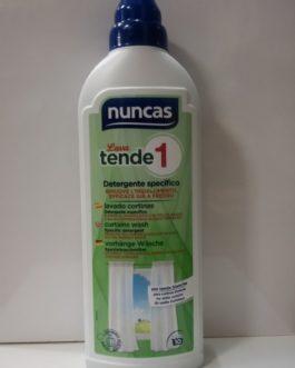 Nuncas Lava Tende 1- Lavado Tratamiento nº1 cortinas Detergente, 750ml.