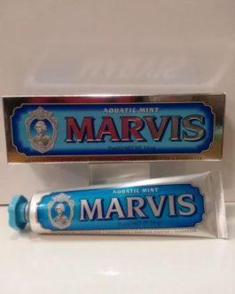 Marvis Acuatic Mint (Azul), 75ml. Dentífrico.