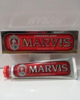 Marvis Cinnamon Mint (Rojo), 75ml. Dentífrico.