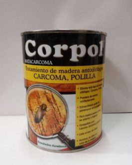 Corpol Matacarcoma Antixilófagos para madera, 750ml.