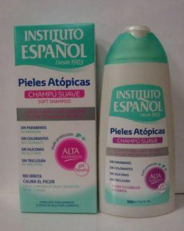 Instituto Español Pieles Atópicas Champú suave, 300ml.
