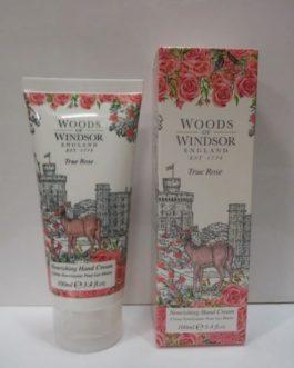 Woods of Windsor-True Rose Crema Nutriente para manos,100ml.