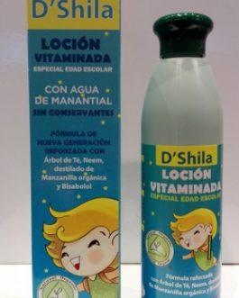DShila Loción Vitaminada, 250ml.