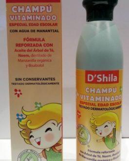 DShila Champú Vitaminado, 250ml.