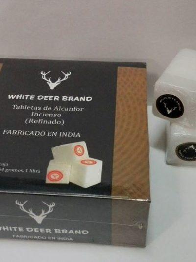 Alcanfor WHITE DEER BRAND 64 unid.