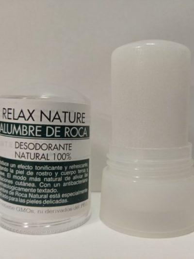 Relax Nature Alumbre de Roca Desodorante Natural 100%