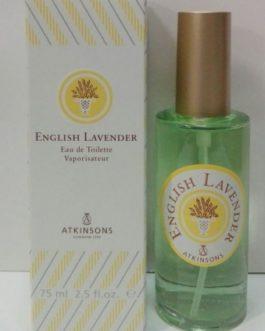 Atkinsons English Lavender 75ml Vap.