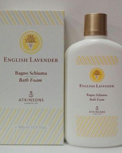 Atkinsons English Lavender Espuma de baño 400ml.