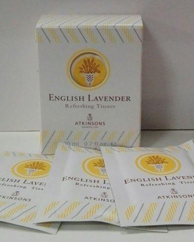 Atkinsons English Lavender 10 Toallitas.