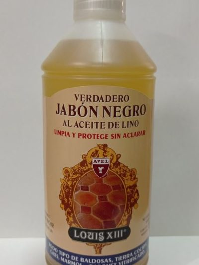 Avel Louis XIII Jabón Negro al Aceite de Lino 1L.