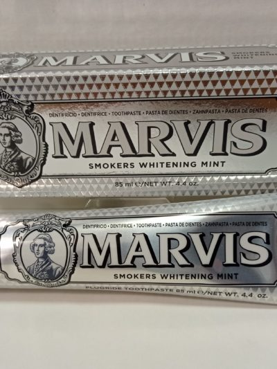 Marvis Smokers Whitening Mint (Plateada), 75ml. Dentífrico.