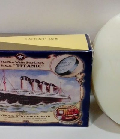 Vinolia Jabón Tocador «Titanic» 170gr.