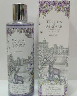 Woods of Windsor, Gel Bath & Shower Lavander, 250ml.