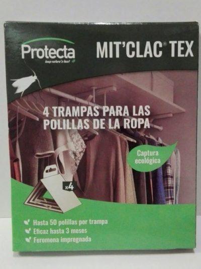MIT´CLAC TEX 4 Trampas Polillas Ropa
