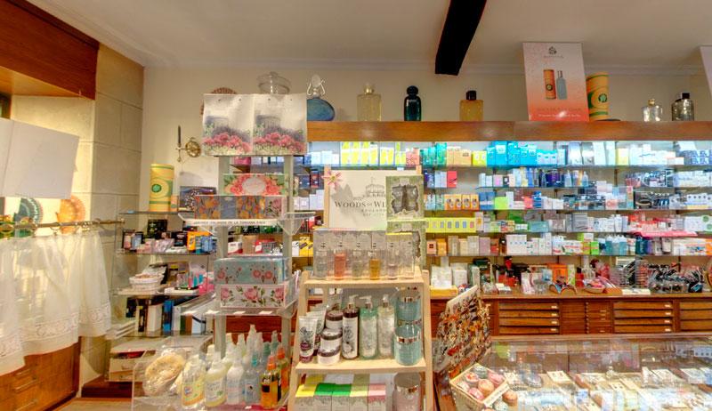 Interior de la perfumería