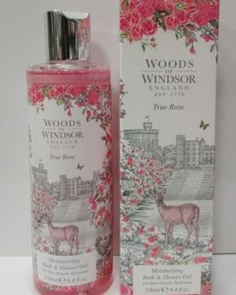 Woods of Windsor-True Rose Moisturising Bath & Shower Gel, 250ml.